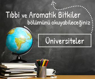tibbi ve aromatik bölümü olan üniversiteler