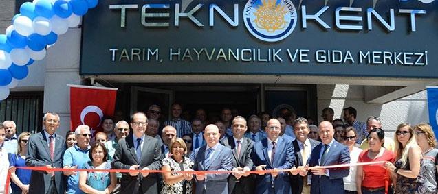 <b>Gıda Teknokenti </b> Ankara&#8217;da Açıldı